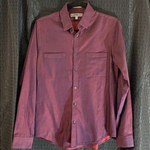 Men's EXPRESS fitted shirt size S 14-14 1/2
